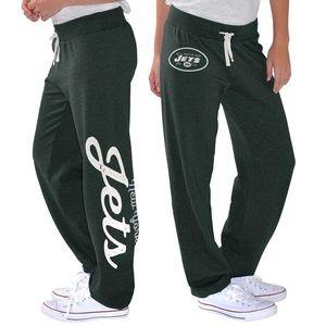 NWT New York Jets Women's Fleece Pants, SM